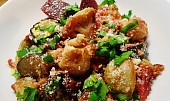 Pečená zelenina s parmezánem