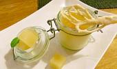 Pečený domácí pudink s jablečným želé