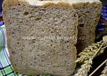 Pšenično-žitný chléb s lněným semínkem