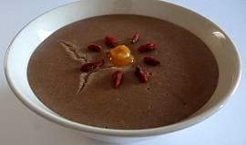 Pudink z teffové mouky (bez lepku, mléka a vajec)