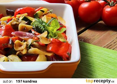 Ratatouille - francouzská restovaná zelenina