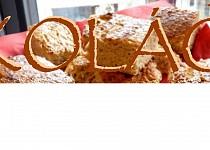 Kefírovo - proteinový koláč ( fitness )