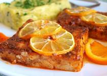 Rybí filé v citrusové marinádě