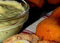 Rybí krokety s křepelčími vajíčky