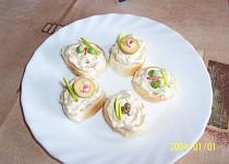 Sardelová pomazánka na chlebíčky a jednohubky
