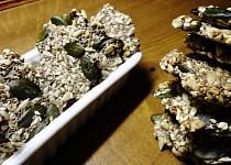 Slané chia bezmoučné sušenky