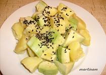 Smetanové brambory s avokádem II