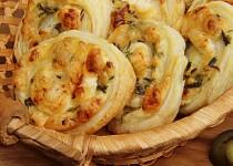 Šneky jalapeňo z listového těsta