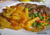 Steakové hranolky