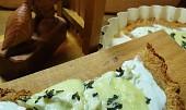 Sýrová pizza na celerovém těstě