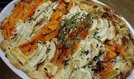 Tuřín pečený s mrkví