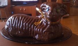 Velikonoční beránek s vaječným koňakem