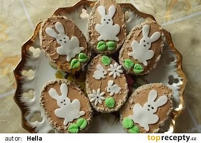 Velikonoční piškotová vajíčka