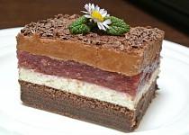 Višňovo - čokoládové řezy