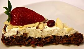 Vločkovo-mrkvový dortík bez mouky
