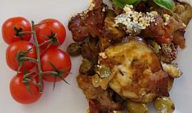 Zapečené vepřové maso s lilkem