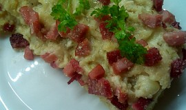 Zapékané brambory s Hermelínem