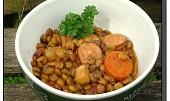 Zeleninová čočka s klobásou