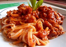 Boloňské špagety s mletým masem podle Petry