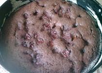 Čokoládový koláč s višněmi