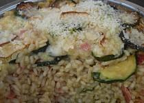 Cuketové risotto zapečené pod grilem