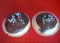 Cupcakes s čokoládovou polevou