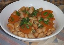 Fazolový salát s mrkví