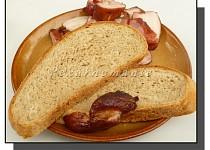 Grilovací chleba s bramborem a syrovátkou