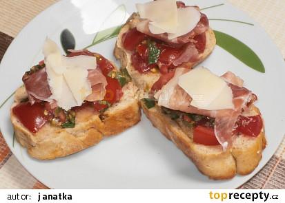 Italské bruschette