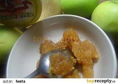 Jablečná povidla s medem