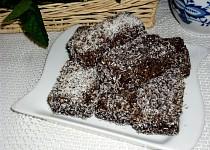 Kokosom obalované štangle /rezy/