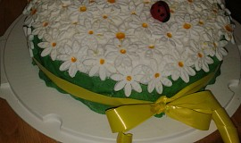 Kopretinový dort