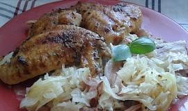 Kuře se slaninou