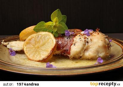Kuřecí prsa s medovým citronem