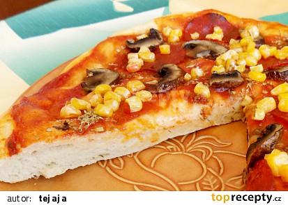 Pizza těsto z pizzerie