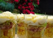 Skládaný zimní salát podle Petra Novotného