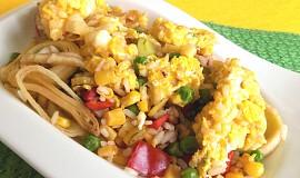 Smažená rýže bez masa