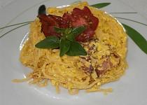 Špagety smetanové  (Carbonara)