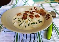 Sýrová polévka od maminky