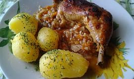 Tety kuře se zeleninou