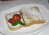 Toustový chléb v  lívancovém těstíčku