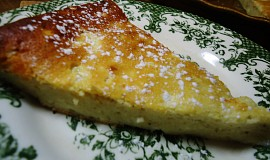 Tvarohový koláč bez těsta
