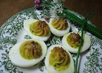 Vajíčka na sardeli