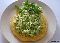 Veganská omeleta z cizrnové mouky