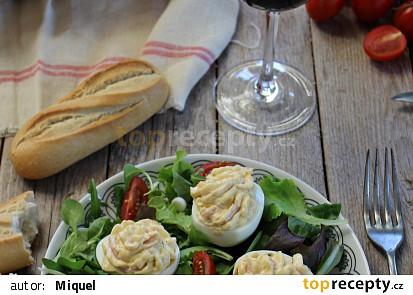 Vejce plněná sýrem