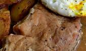 Vepřové karé na česneku