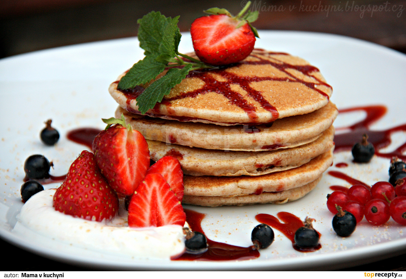 American pancakes recept - TopRecepty.cz American Pancakes Recept