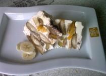 Banánovo-broskvové tiramisu
