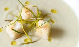 Celerový krém s rozmarýnem