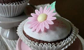 Čokoládové cupcakes s rumem